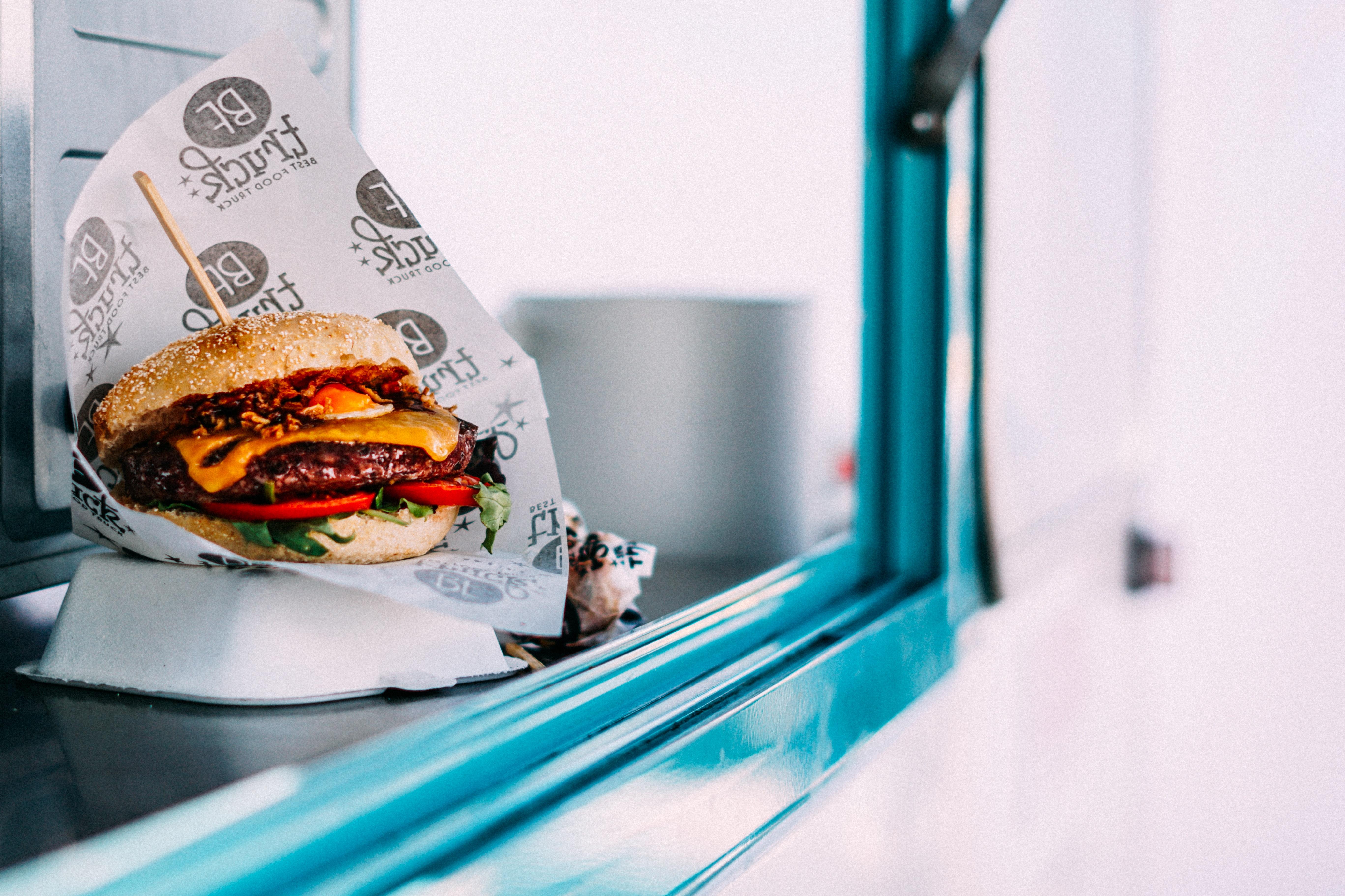 Hamburger da asporto
